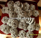 Made in China Hot Sale Hand Crocheted Decorative Flower Applique, Hand Crochet Brooch, Shoe Flower (KCC-HCF00213)