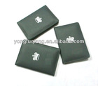 Green high grade PU fashion wallet card holder