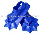 New amphibious swimming fins