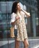 2012 trendy pretty bowknot ptint chiffon scarf