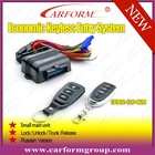 remote control keyless entry system