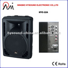 """12"""" powered speakers HYC-12A"""