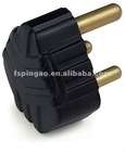 16A 250V South Africa Type Rubber PlugTop