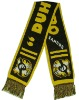 knitting football team scarf