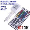 44 Keys IR Remote GRB Port Controller for RGB LED Strip Light