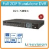 Economic full 2CIF mini 1U 8ch standalone DVR, DVR-7608HCI