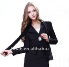 Dream swing 2011 new autumn outfit lady lace falbala small suit coat