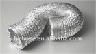Flexible Aluminum ventilation hose aluminum foil air duct expandable aluminium ducting