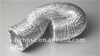 Flexible Aluminum ventilation hose aluminum foil air duct expandable aluminium ducting