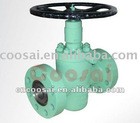 2 1/16 inch 3000 PSI Slab gate valve