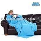100% polyester fleece tv blanket