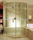 Tempered Glass used as shower door