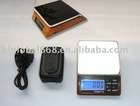 Cheap 2kg/0.1g Digital Pocket Scale with Solar Charger KL-168A