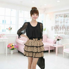2012 Sexy Mini Skirt for Girls with Bow