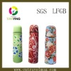 Pringting with flower vacuum flask
