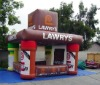 Fully Digital Printing Inflatable Movable House Inflatable Booth