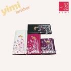 2011 fashion flower print PU wallet