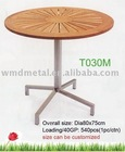 T030M coffee table,stainless steel teak tea table,outdoor,modern,lounge sets,garden furniture