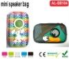 EVA speaker bag for mobile iphone5