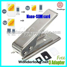 iPhone 5 Nano sim card cutter (Cut GSM Sim & Micro Sim Card to Nano Sim Card)