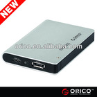 ORICO 2598SUS3 e-SATA&USB3.0 1tb external usb hard drive enclsure for 2.5'' SATA HDD