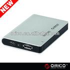 ORICO 2598SUS3 e-SATA&USB3.0 1tb external usb hard drive enclsure for 2.5'' SATA HDD