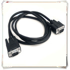 High Quality 1.8m 6ft Black 15 Pin male to female VGA splitter cable