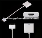 DOCK CONNECTOR HDMI CABLE Adapter for iPad 3/New iPad/iPhone 4S AV ADAPTER PLUG