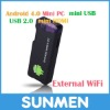 Cheap HDMI MK802 Mini PC Android 4.0 HDMI Smart TV Dongle