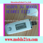 New White Unlocked Huawei E173 HSDPA 7.2Mbps GSM 3G USB Wireless Modem