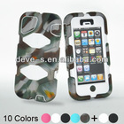 Silica Gel 3 Proofings Survivor case for iphone 5 -waterproof ShockProof Dustproof