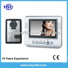7 inch Screen Wireless video door phone kit