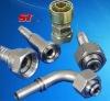 hydraulic hose fitting ; flange