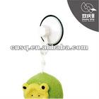 plastic screw wall mounted hook