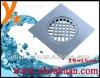 15x15cm zinc square floor drain for Mid-east market
