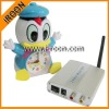 BM-0330 2.4G wirelss Hidden camera and receiver, built in microphone for audio monitoring