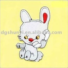 Lovely Rabbit Embroidery Patch
