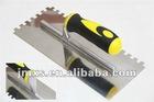 Carbon steel blade plastering tools