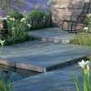 black slate floor tile or irregular slate flooring tiles