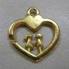 heart-shaped zipper puller