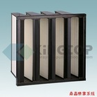 V Cell big volume air flow rigid bag air filter