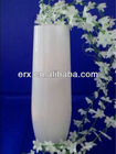 Clear cylinder mouth-blown wases glass price