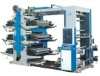 six colors flexographic printing machine