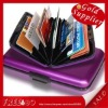 Factory Price! Aluminum Wallet Credit Card Holder