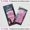 2013 hot sell nail polish strips nail polish sticker