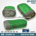led rechargeable flashlight torch/Hand crank torch