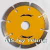 "4"" Hot pressed dry diamond cutting saw blade"