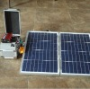 portable mini solar generating set
