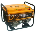 2.5kw single phase AVR recoil/electric start portable generator set