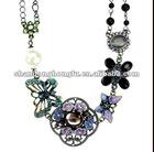 Elegant peacock Princess necklace